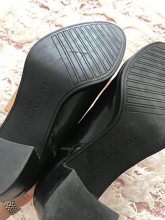 38 Beden siyah Renk Zara bootie