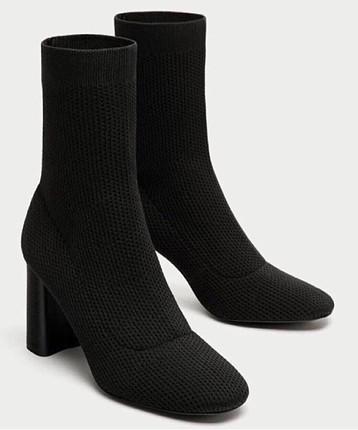 Zara çorap çizme