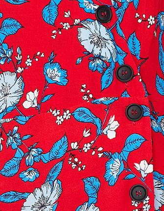 m Beden kırmızı Renk Koton günlük uzun kırmızı elbise