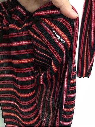 m Beden kırmızı Renk Triko elbise