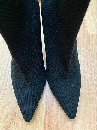 38 Beden Zara topuklu çorap çizme