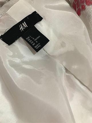 H&M Parlak kumaştan kimono