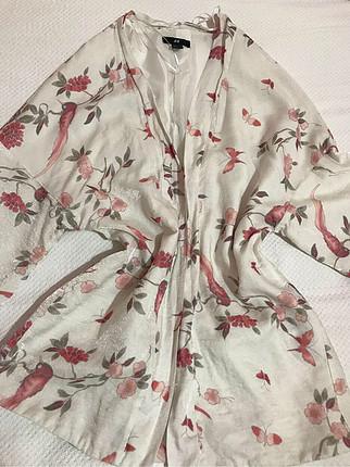 l Beden ten rengi Renk Parlak kumaştan kimono