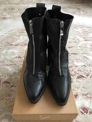 36 Beden siyah Renk Zara bootie