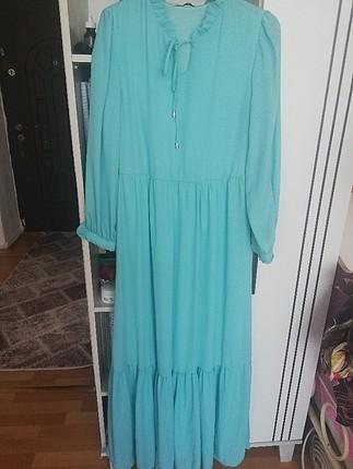 mint yeşili abiye ve günlük elbise
