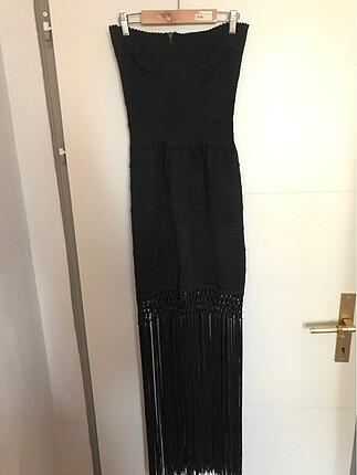 Siyah şık elbise