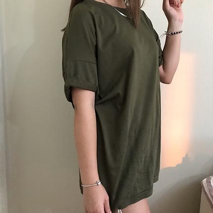Bershka Şık ve havalı bayan tişört #oversize #cool#tişört