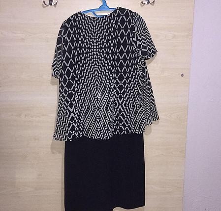 44 Beden Yeni kısa elbise