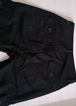siyah kargo jean pantolon