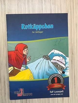 Almanca Kitap (Rotkäppchen -Kırmızı Başlıklı Kız)