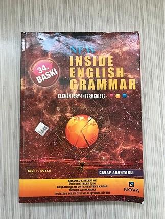 NEW INSIDE ENGLISH GRAMMAR (İngilizce Kitap)