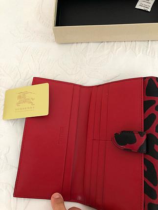universal Beden kırmızı Renk Burberry cüzdan