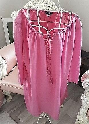 36 Beden madonna yaka elbise