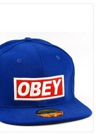 Obey saks mavi şapka