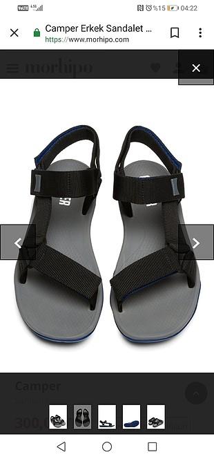 erkek sandalet