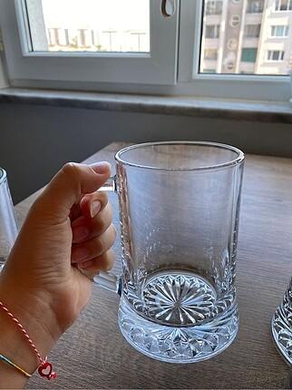 Beden beyaz Renk Bira Bardağı