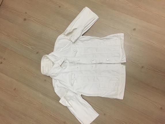 Lcv beyaz kot ceket