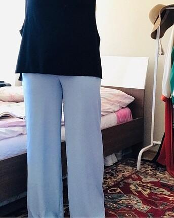 l Beden mavi Renk Pantolon