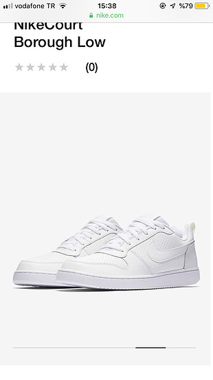 38 Beden nike courth borought low