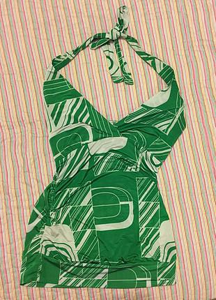 Boyundan bağlamalı original bluz