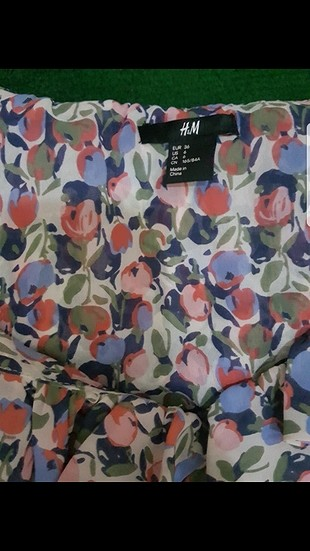 H&M yazlık bluz