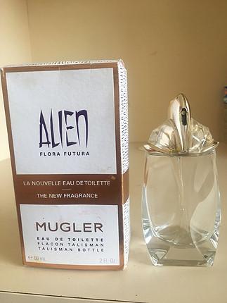 Orjinal alien mugler boş parfüm şişesi