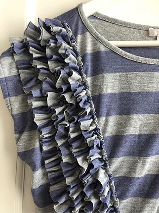 l Beden çeşitli Renk Twist bluz