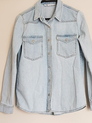 Zara jean gömlek
