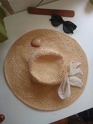 H&M H&M Büyük Hasır Şapka