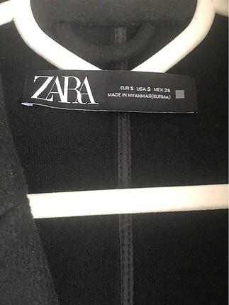 s Beden siyah Renk Zara kaşe kaban