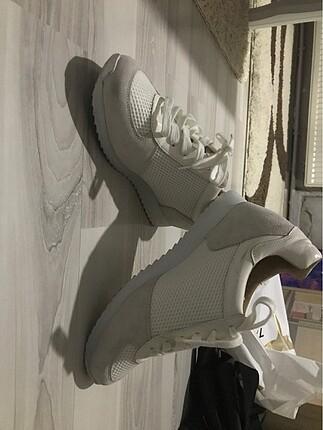 Ninewest beyaz spor ayakkabı