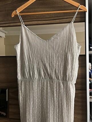 Simli astarlı elbise