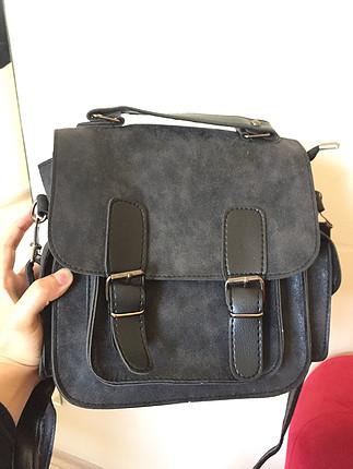 Vintage askılı çanta