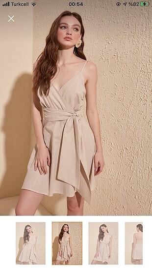 Trendyol & Milla Bej rengi elbise
