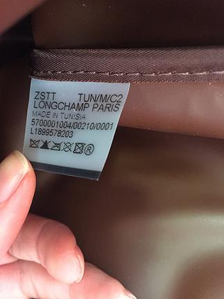 Longchamp chocolate canta
