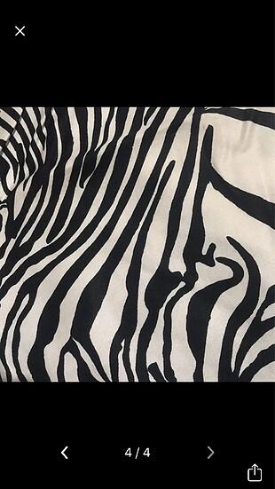 İpekevi zebra şal