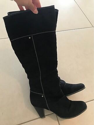 Graceland Siyah suet cizme