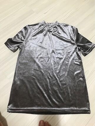 s Beden Zara kadife tshirt