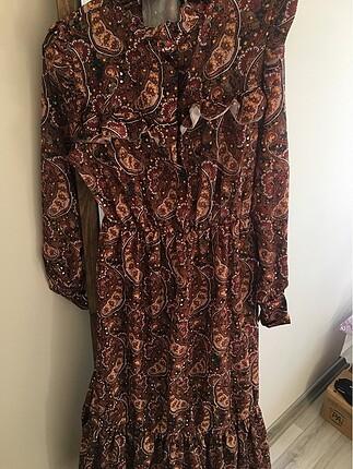 Etnik desen elbise