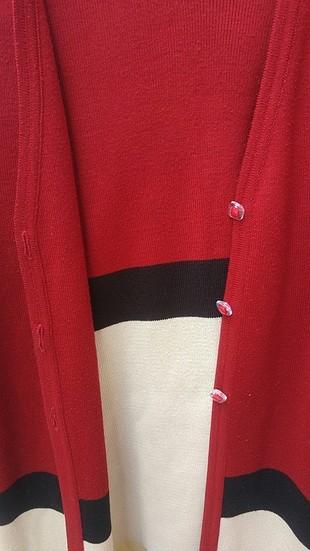 42 Beden kırmızı Renk iç li dışlı triko