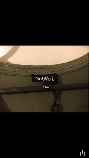 xs Beden haki Renk Network yeni ve etiketli