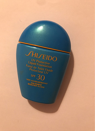 Shiseido likit fondöten spf 30