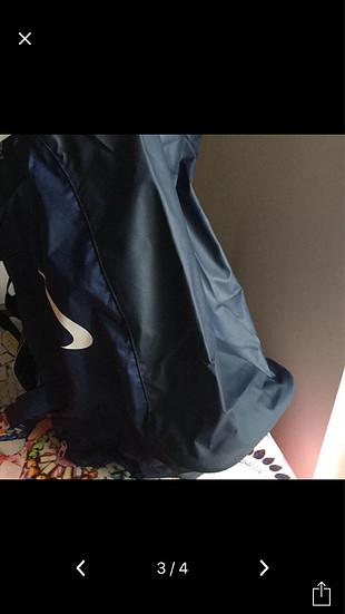 xl Beden lacivert Renk Nike spor çanta