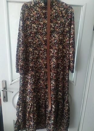Zara Basma kumaş elbise