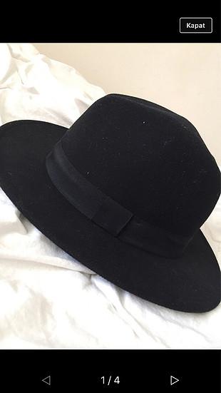 h&m kışlık siyah şapka