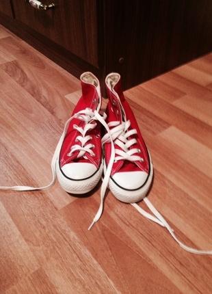 converse 0 ayakkabı kırmızı orijinal