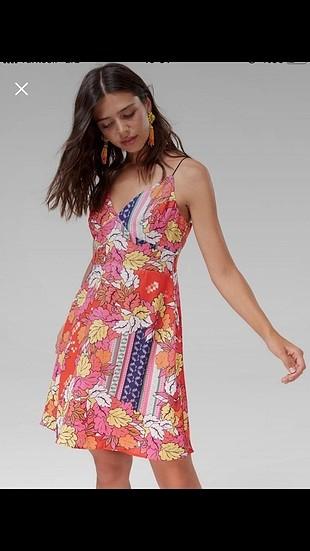trendyol milla askılı kısa elbise