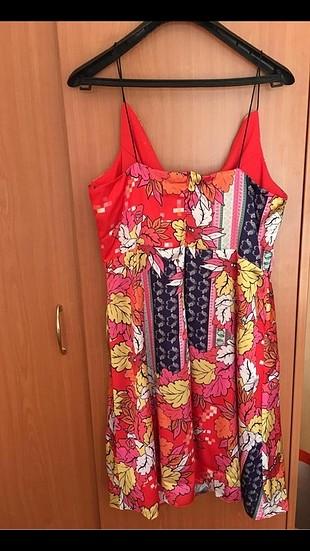 l Beden trendyol milla askılı kısa elbise