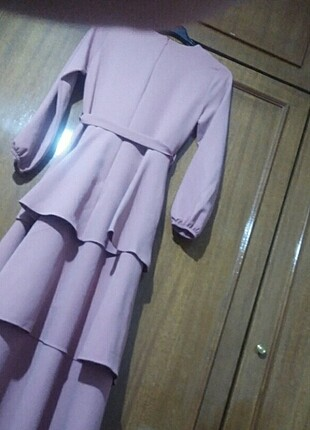 Etiketli abiye elbise