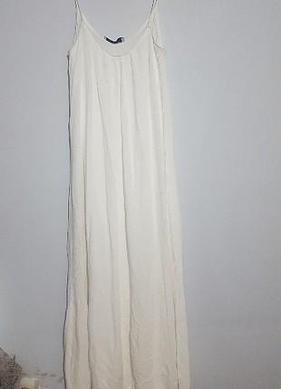 bol uzun salaş içinde astarlı elbise
